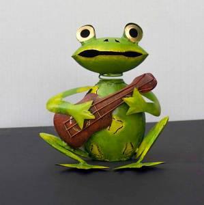 Bilde av Frosk med gitar